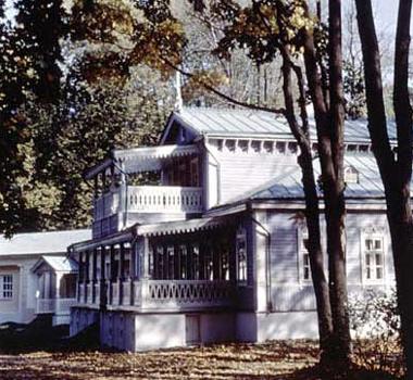 Спасское-Лутовиново - старинный парк