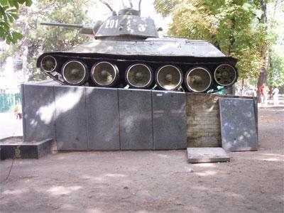 Памятники Симферополя