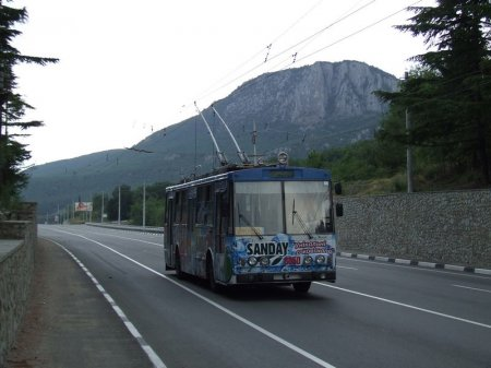 Горная троллейбусная дорога