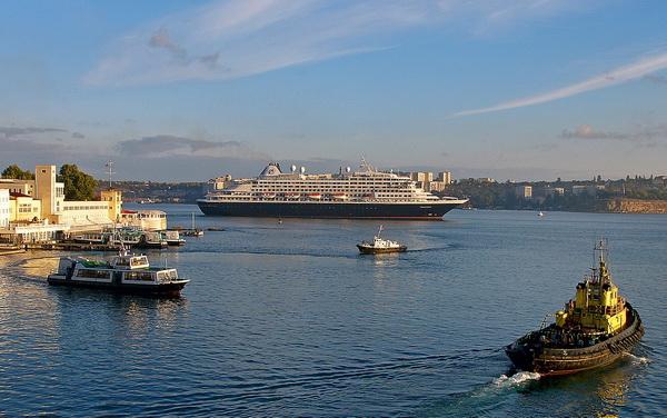 Порт и флот в севастополе