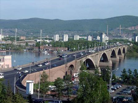Красноярск – крупный город восточной