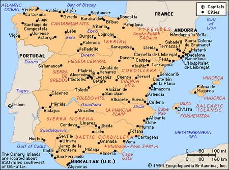 Советы туристам в Испании