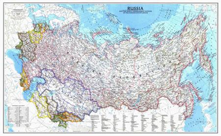 Карта автомобильных дорог России