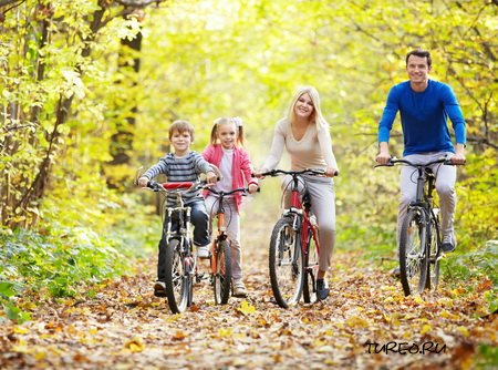 Путешествие на велосипеде с ребенком