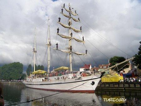 Этот портовый литовский город имеет