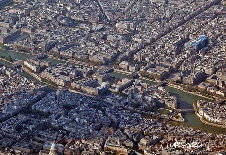 Парижский остров Сен-Луи