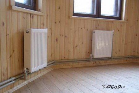 Монтаж отопления в частном доме