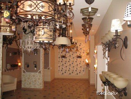 Светильники в стилях интерьера