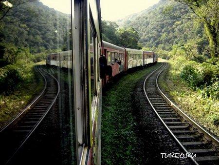 Долгая поездка в поезде