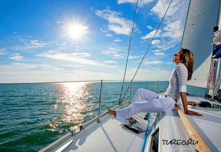 Фото на яхте