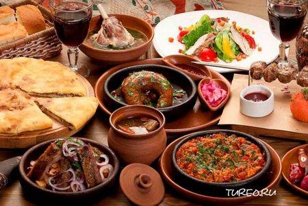 Грузинская кухня для туриста