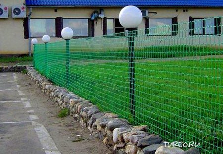 Заборная решетка