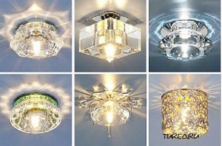 Выбор светильников