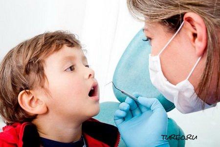 Лечение зубов у детей
